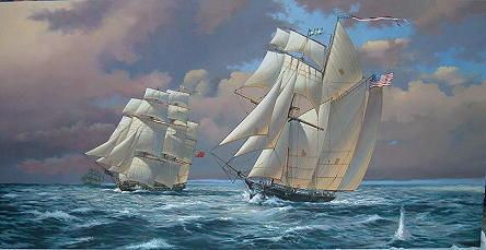 marine paintings by adrian c rigby marine art marine artwork